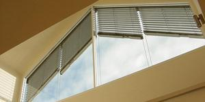 Asymmetric External Venetian Blinds